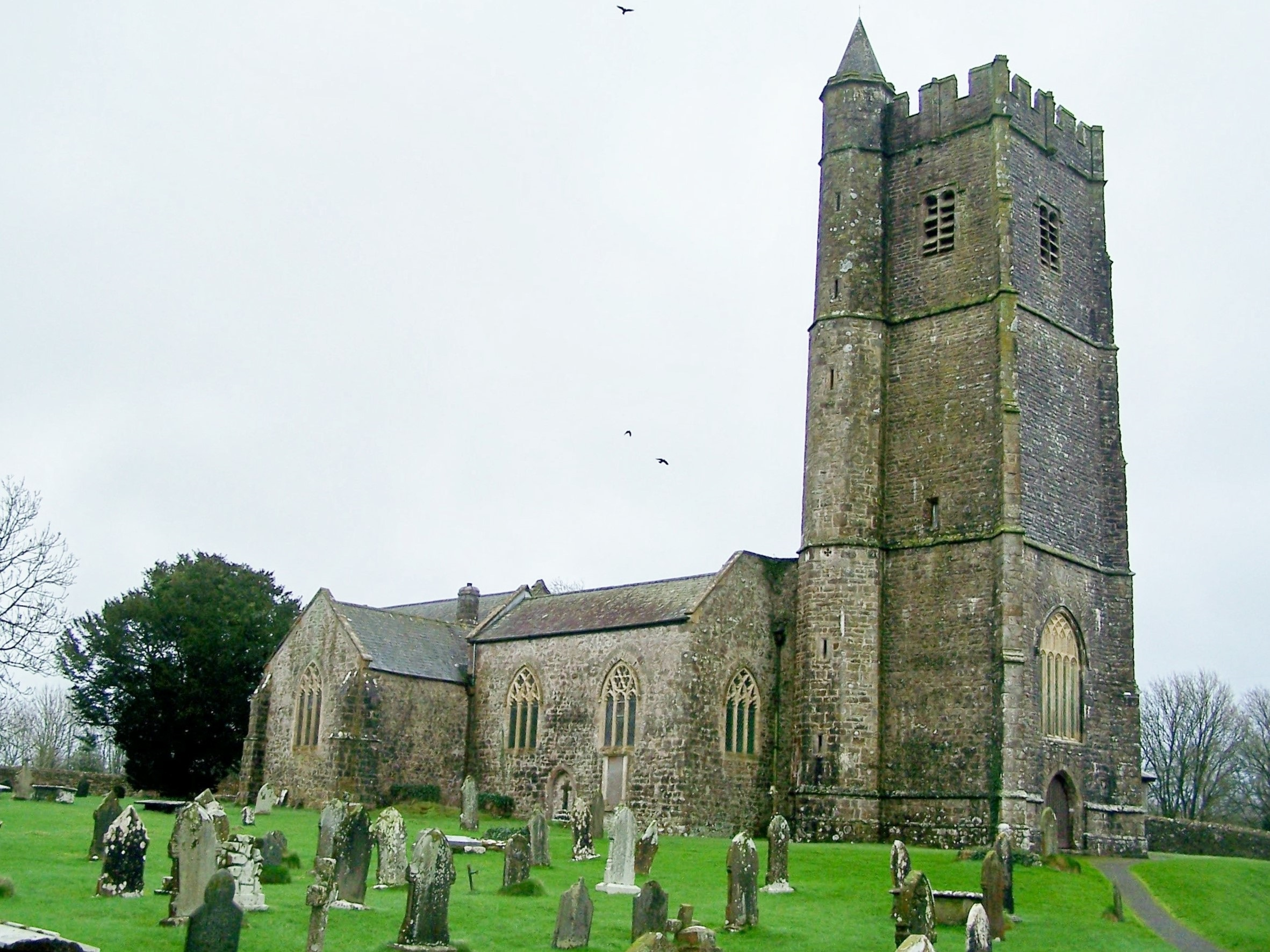 CAREW, St Mary, Pembrokeshire