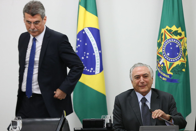 O segundo núcleo, lumpenburguês*, é formado pelos parlamentares dos partidos conservadores e liderados porCunha-Temer-Jucá - Créditos: Lula Marques/Agência PT