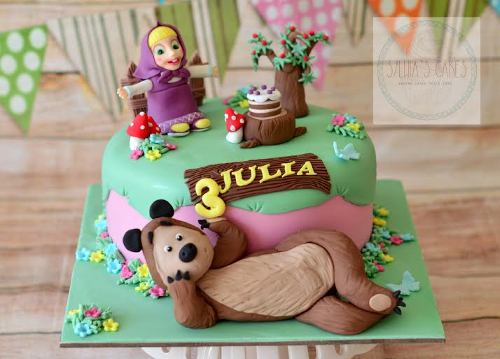Cute Bear Cake by Sylwia Marchewka of Sylwia's Cakes