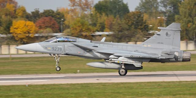 Czech Air Force Saab JAS-39C Gripen 9239