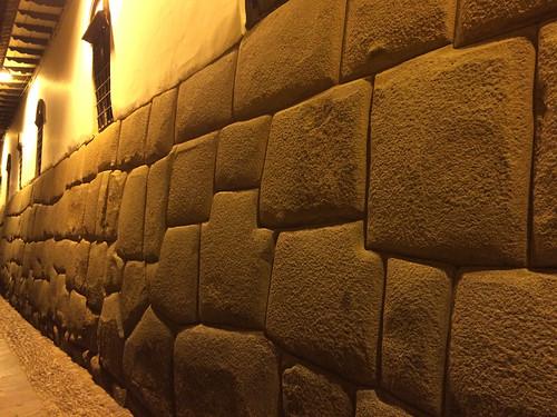 Cusco: mur inca