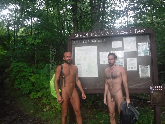 naturist 0004 Appalachian trail, Vermont, USA