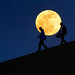 Tourists and the Moon by oeyvind