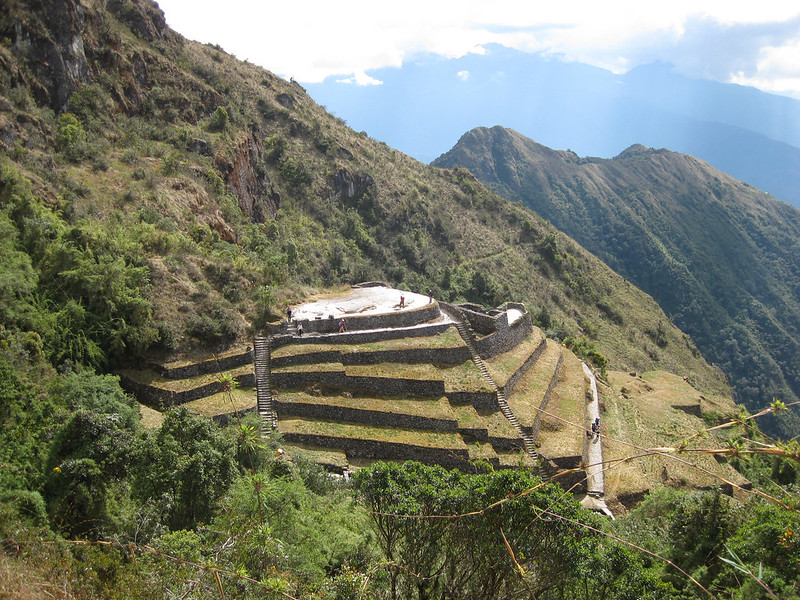 The ruins scattered along the trail got more and more impressive as Machu Picchu drew closer.