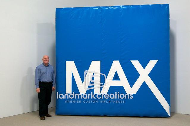 Max Credit Union Custom Inflatable Logo Billboard Display Flickr Photo Sharing