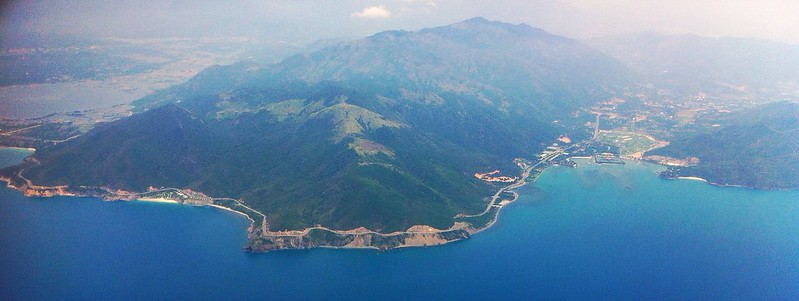 Cam Ranh from above