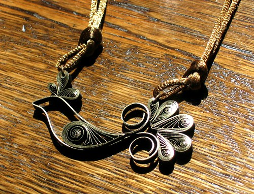 Quilled-Bird-Pendant