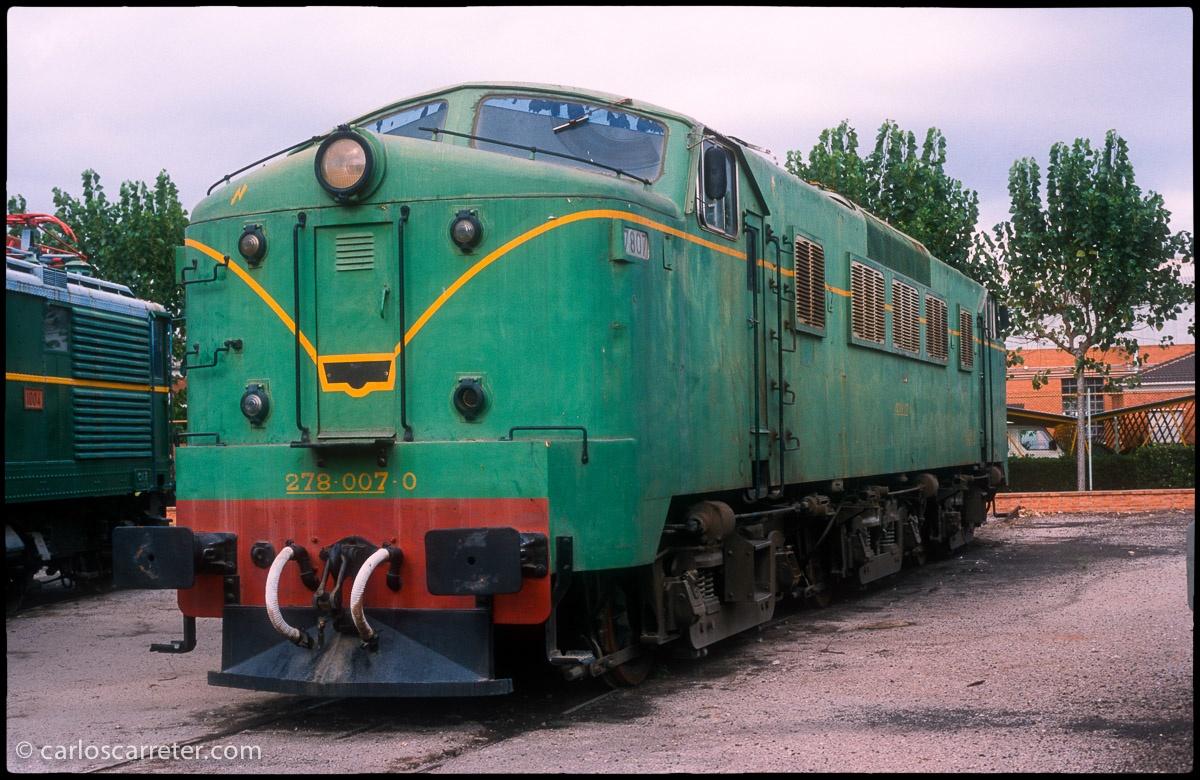 Locomotora eléctrica 7807 - Panchorga