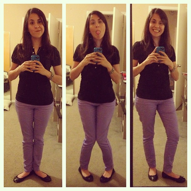 Waiting for mom to get out of work. #Boredmuch #Picstitch #Purplepants #3twentysix #ilovemesomepurplepants #ariface