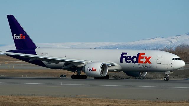 """FedEx Boeing 777F """"Amara"""" N886FD"""