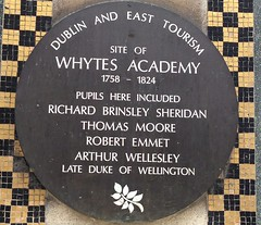 Photo of Whytes Academy, Richard Brinsley Sheridan, Thomas Moore, Robert Emmet, and 1 other