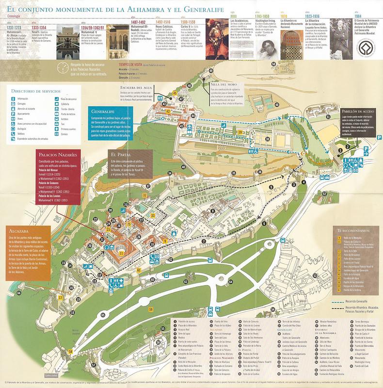 Mapa de Alhambra