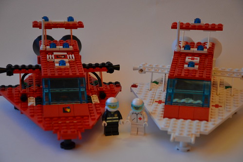 LL-924 Fire Fighter & Ambulance