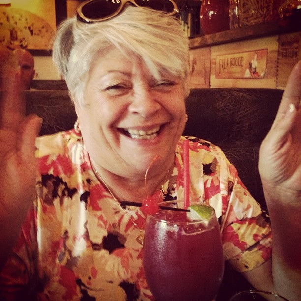 #momdukes #drunk before she even #sipped her #sangria  #felizdiadelasmadres #ilovethislady #gladimdriving LOL!!