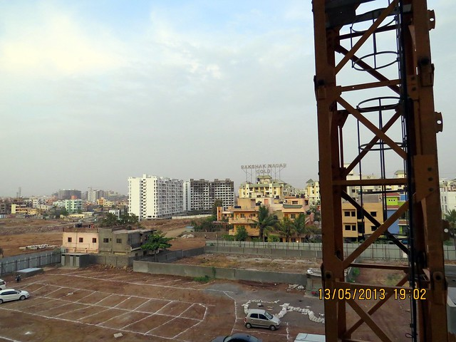 View from Le Reve, 2 BHK & 3.5 BHK Flats in 22 Story 2 Towers, adjoining Radisson Hotel, Kharadi Hadapsar Bypass, Kharadi, Pune 411 014