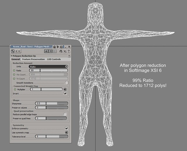 Better mesh building  From Sculptris to SoftImage to Anim8or