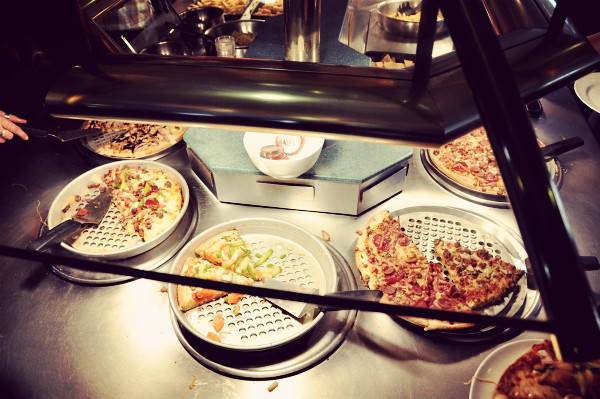 Pizza Hut Toowoomba: All You Can Eat Buffet Lunch