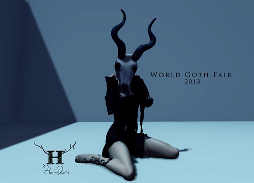 Half-Deer at World Goth Fair 2013 by Half-Deer (Halogen Magic)
