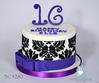 BC4280-black-purple-damask-cake-toronto-oakville