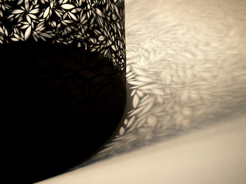 Paper Cut Vessel - detail