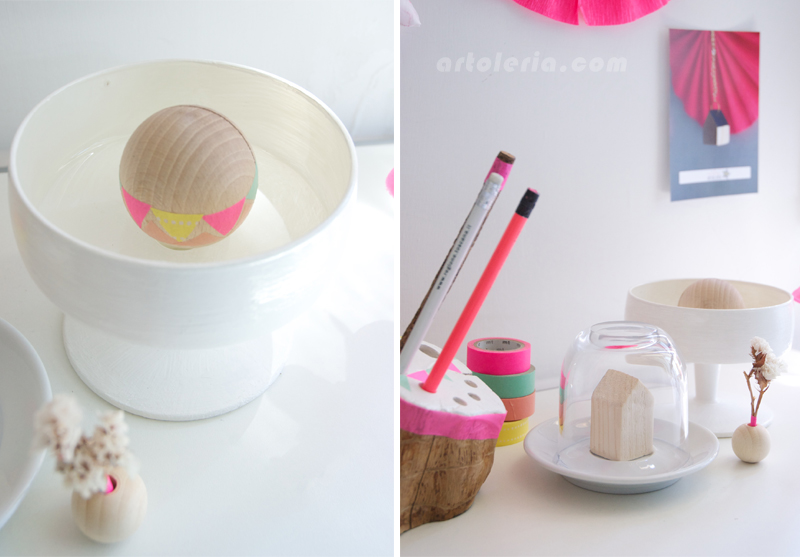 decorazione con Masking Tape