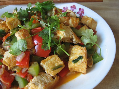 Aromatic Tofu Packets Recipe — Dishmaps