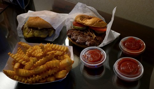 Dinner from Shake Shack - New Haven, Connecticut