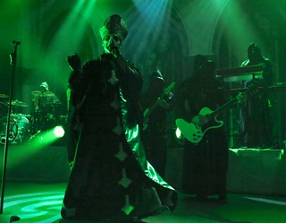 Papa Emeritus II and the Nameless Ghouls of Ghost B.C.