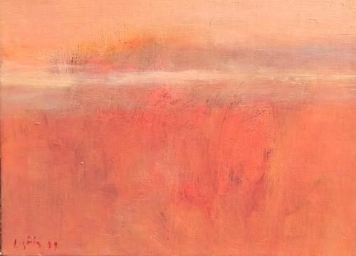 pintura óleo sobre tela rosas