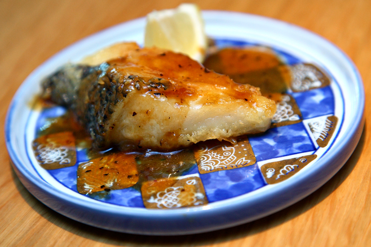 Teppanyaki-Cod