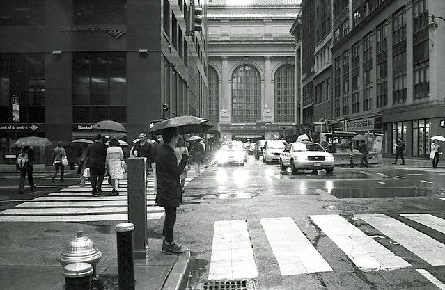 Wet Afternoon on Madison Ave