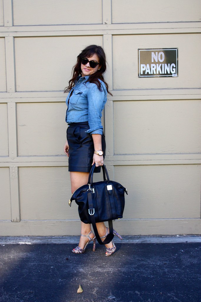 Denim, Glitter, and Leather, Oh My!
