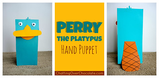 Perry the Platypus Hand Puppet