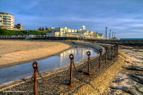 Newcastle Beach HDR
