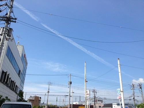 青い空 by haruhiko_iyota