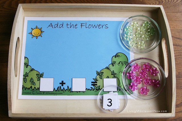Add the Flowers Tray