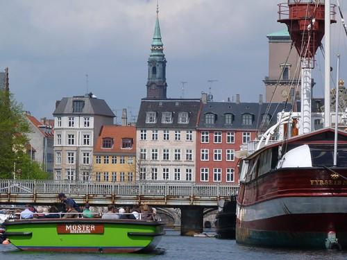 Imagen desde un canal de Copenhague