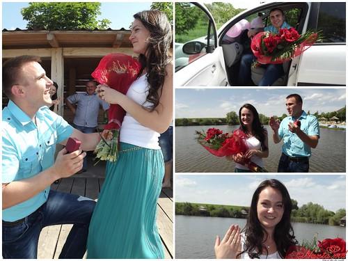 """Concurs """"Cea mai originala cerere în căsătorie!!!"""" > Elena & Igor"""