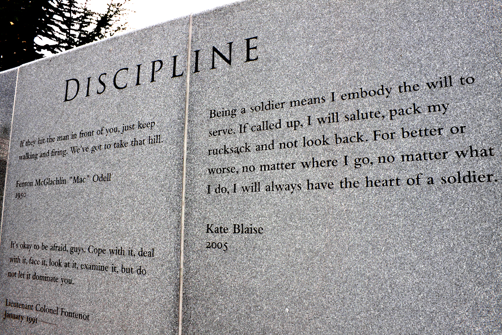 DISCIPLINE--Scranton