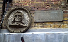 Photo of Alexander Cruden bronze plaque
