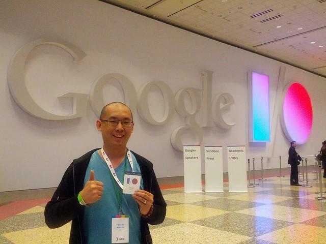 2. Logo Google I/O 2013 - Yansen Kamto
