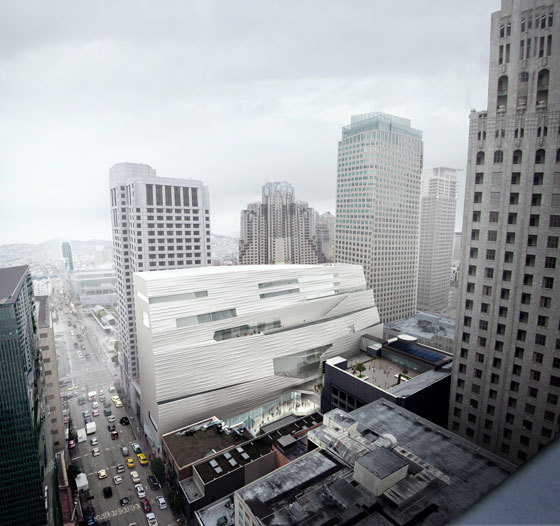 San Francisco's MoMA. Architecture by Snøhetta