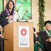 <p>UH Hilo's commencement keynote speaker U.S. Congresswoman Tulsi Gabbard. May 11, 2013</p>