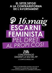 cartell #escrachefeminista #16M