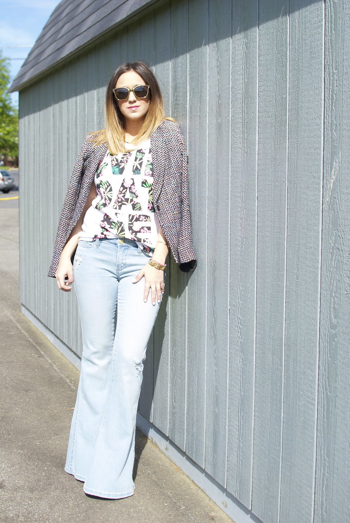 the perfect pair of flare jeans