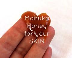 manuka honey for your skin