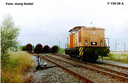 DE-37345 Bischofferode Kaliwerk Südharz Lok 2 (LEW 11966/1968) im Juli 1993