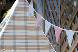 Hanging Bunting tutorial