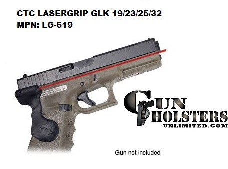 Crimson Trace Corporation Hi-Brite LaserGrip Fit for Glock