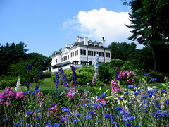Berkshire Gardens- The Mount, Edith Wharton's Home, Lenox, MA; photo credit David Dashiell- Flowers